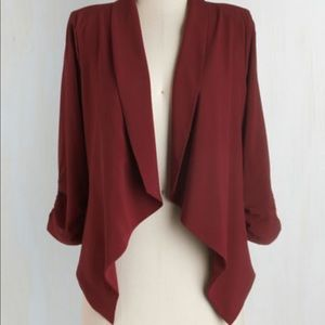 MODCLOTH drapes blazer
